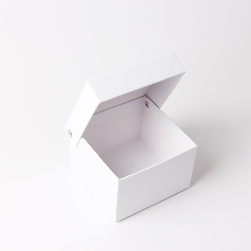 Square bow tie storage packaging box