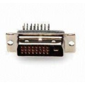 DVI 24+1 Male Angle DIP Type Connector