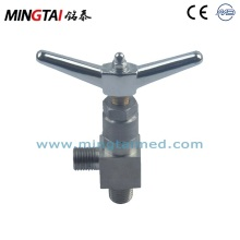 Manual shut off valve