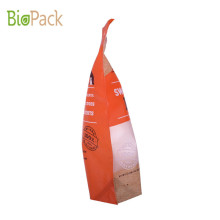 Stand Up Pouch Pet Food bag With Window Customerized Printing
