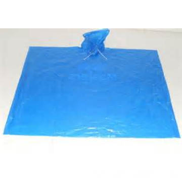 Waterproof Promotion Disposable Rain Poncho