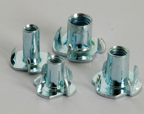 Zinc plated Hopper Feed T Nuts