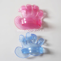 Transparent Dog Cat Massage Shower Bath Brush