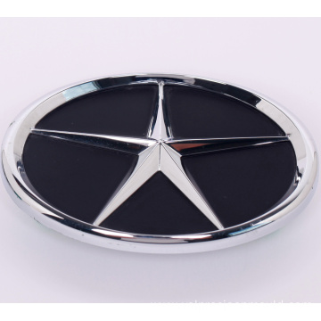 Plastic Auto Brand with Chrome Logo