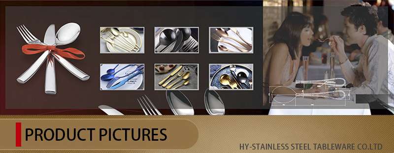 18-0 Plastic Handle Stainless Steel Tableware