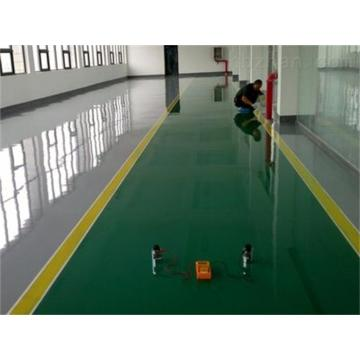 Epoxy anti-static thin coating finish