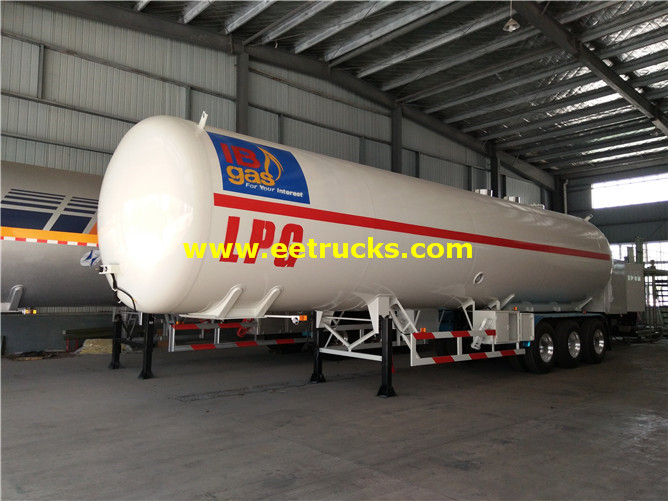 LPG Gas Filling Trailers