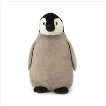 Gray Penguin Plush Toys