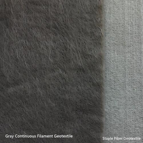PET Thermal Bonded Continuous Filament Nonwoven Geotextile