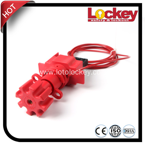 Universal Ball Valve Loto with Nylon Cable