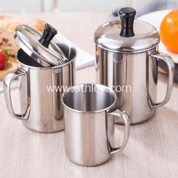 Food Grade 304 Non-magnetic Stainless Steel Cup