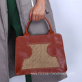 Handmade first layer cowhide ladies handbags