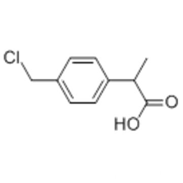 2-(4-Chloromethylphenyl)propionic acid CAS 80530-55-8