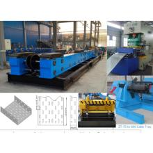 OEM for Steel Cable Tray Roll Forming Machine ZT-75 to 600 fully automatic cable tray rolling machine export to Ukraine Manufacturers