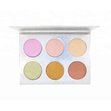 Makeup Shimmer Waterproof Highlighter Powder Palette