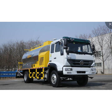 Low consumption asphalt distributor