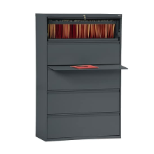 Retractable 5 Drawers Lateral File Cabinet