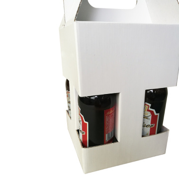 Luxury 4 Pack Beer Box with Handle