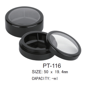 Cosmetic Empty Round Pot Case