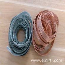 Professional Design for Knitted Wire Mesh Gasket Electrical Tinned Copper Wire Ground Flexible Braided Copper export to Peru Manufacturer