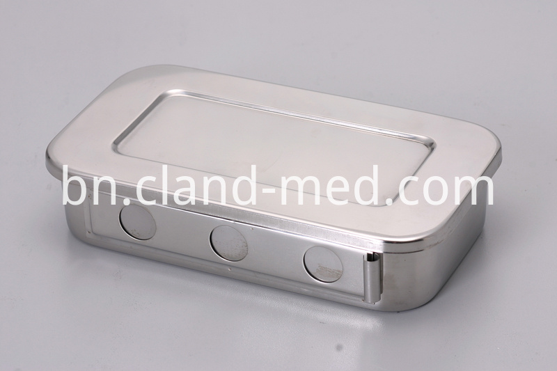 JT-SS0002 STAINLESS STEEL DISINFECTANT SQUARE DISH (1)