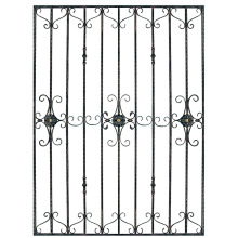 Concise aluminum window grille