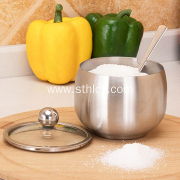 ​304 Stainless Steel Kitchen Seasoning Jar