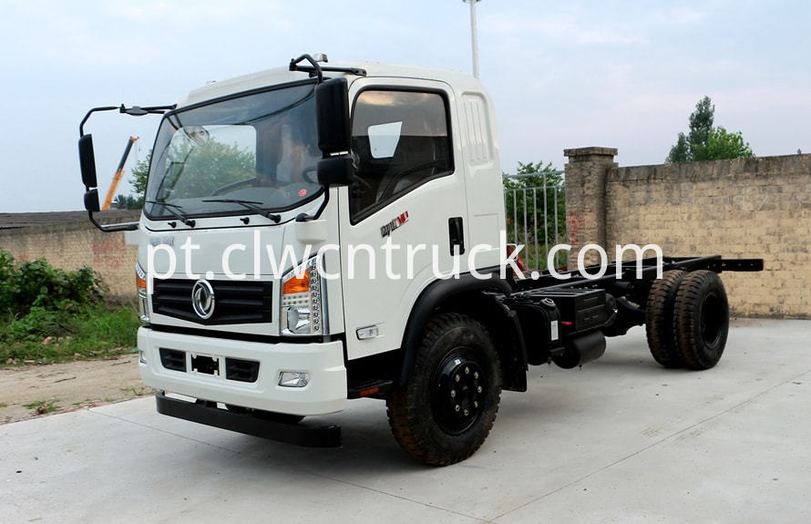 water carrying truck chassis 1