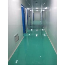 Top epoxy coating waterproof floor