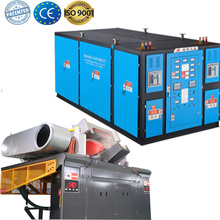 Steel iron induction electric heating furnace