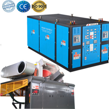 New Condition electric Induction  melting brass furnace