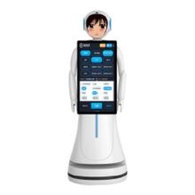 Intelligent And Interactive Robot For Reception