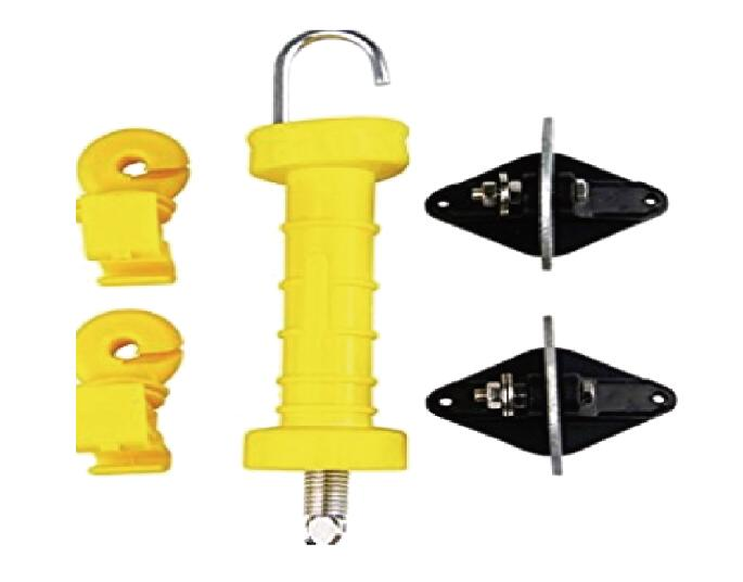 Gate handle and anchor set