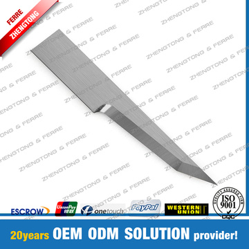 Zund Oscillating Blade for Textile Leather Cutting