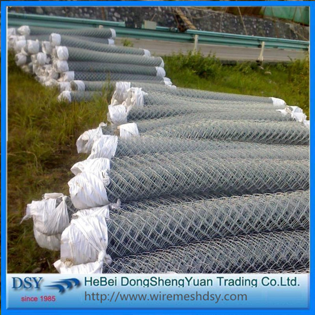 Hot Sale Galvanized use Chain Link Fence Price