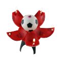 Hot sale birthday soccer candle with best quality