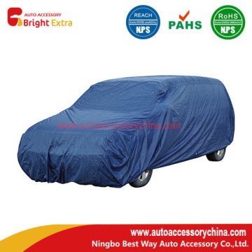 Bottom price for Polyester Silver Car Covers Blue Polyester Van/SUV Car Cover supply to Serbia Manufacturer