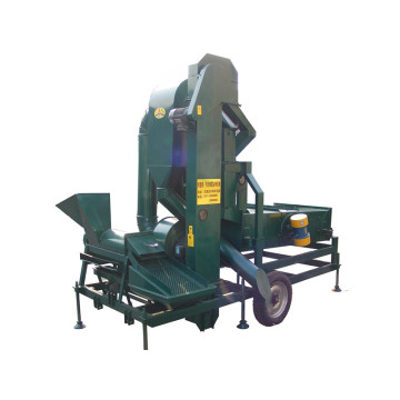 Maize corn seed cleaning machine with corn thresher