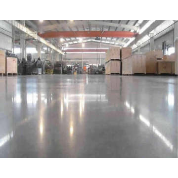 Primary color metal floor hardener