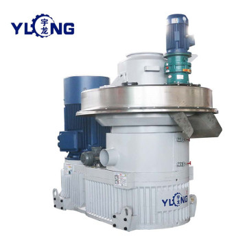 YULONG XGJ560 Elephant grass pellet machine