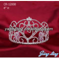 Fashion Rhinestone Pageant Tiaras Wedding Tiara Metal