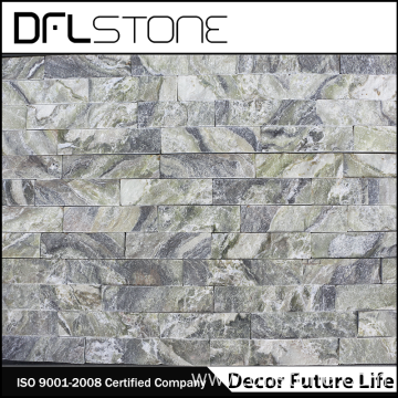 Low Price Natural Green Marble Cultured Stone Paneling