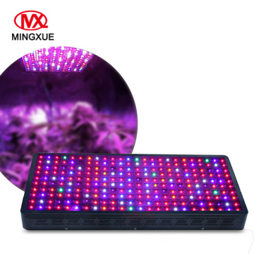 Solar powered 1200W switchable LED grow light