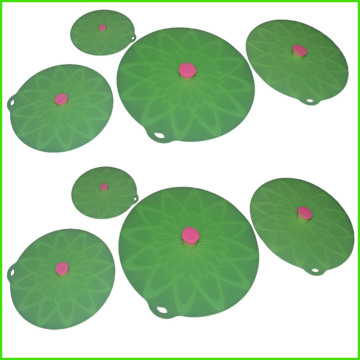 Factory Price for Silicone Lily Pad 4 Size Keep Fresh Silicone Tight Lids supply to Cambodia Factory