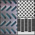 High quality shelving perforated metal panels