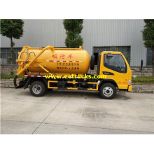 JAC 4500L Fecal Suction Tank Trucks