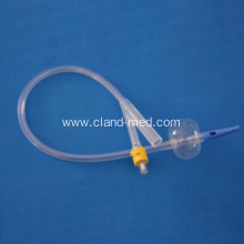 2-WAY 100% all silicone foley catheter