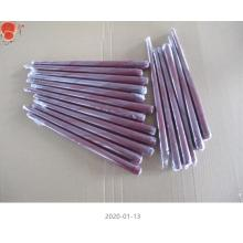 Unscented Red Metallic Taper Candles
