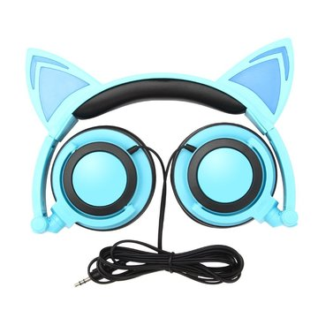 Cosplay cat ear cool sales designer folding headphones