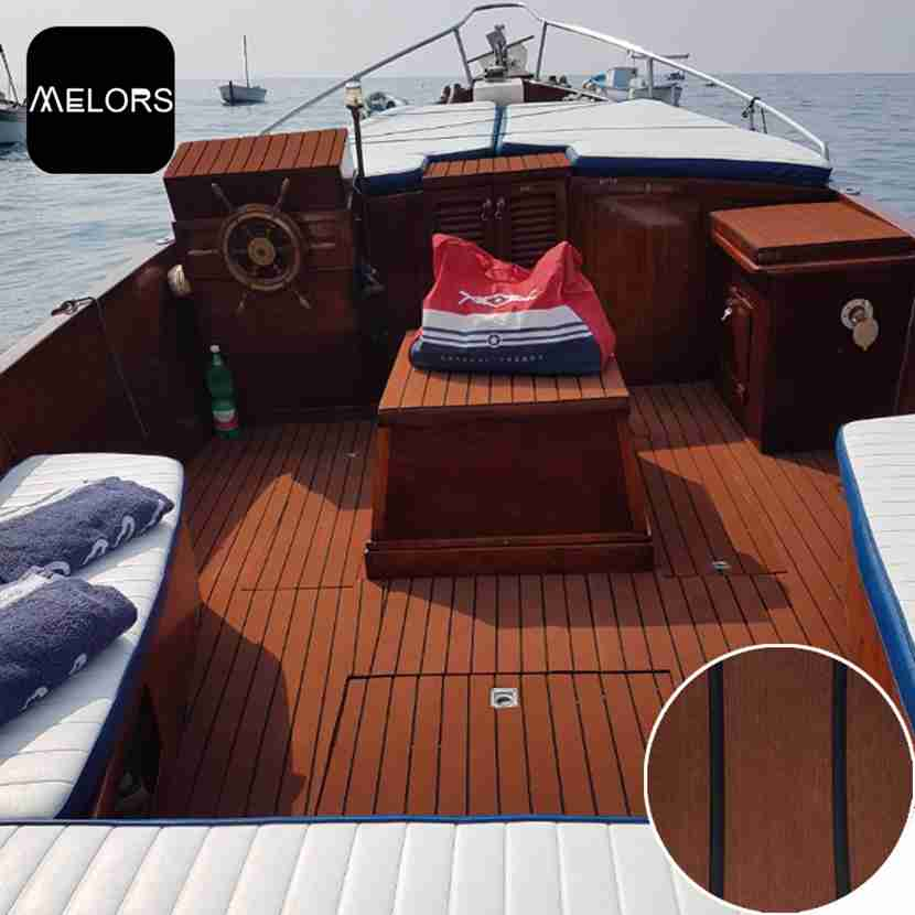 Non Skid Boat Flooring: EVA Faux Teak Sheet Boat Flooring China Manufacturer